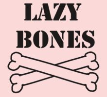 Lazy Bones One Piece - Short Sleeve
