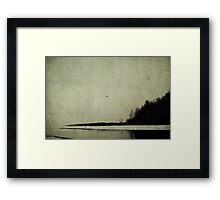 Winter's Shores Framed Print