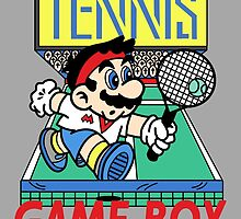 Gameboy Tennis by buythesethings