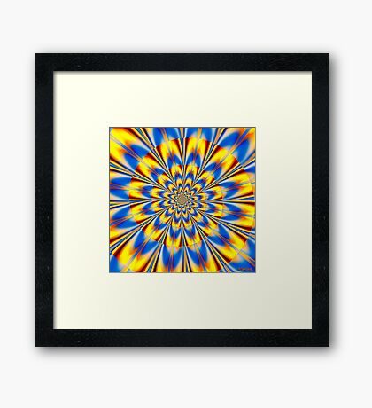 Dr. Who – The Spiral of Time Framed Print