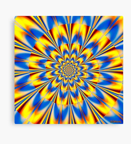 Dr. Who – The Spiral of Time Canvas Print