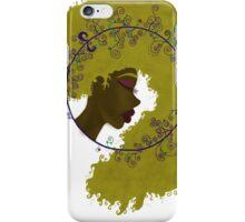 Black Nouveau (Blonde) iPhone Case/Skin
