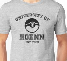 University of Hoenn Unisex T-Shirt