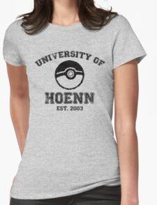 University of Hoenn Womens Fitted T-Shirt