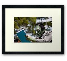 MC Frankenstein Framed Print