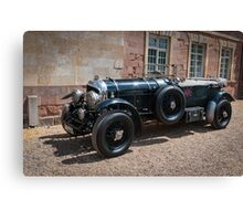 Vintage Bentley sports car Canvas Print