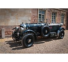 Vintage Bentley sports car Photographic Print
