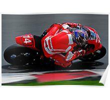 2010 Australian Formula Xtreme Championship Round 5 Eastern Creek Raceway   Fx 1000 - Nationals   Jason Cullen   TCR - National Bio Diesel   Honda CBR-RR  Poster