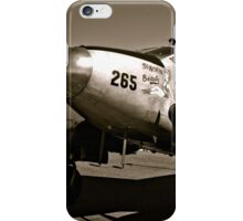 So Noran Beauty 265 Vintage Aircraft iPhone Case/Skin