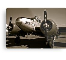 So Noran Beauty 265 Vintage Aircraft Metal Print