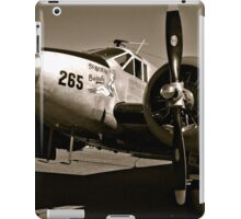 So Noran Beauty 265 Vintage Aircraft iPad Case/Skin