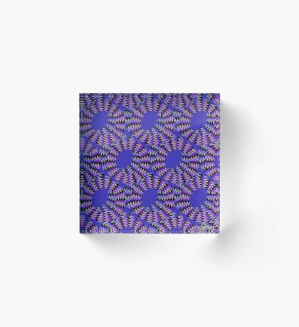 LET'S SPIN! Acrylic Block