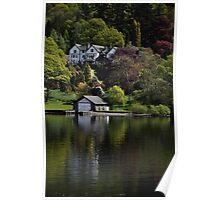 On Lake Windermere Poster