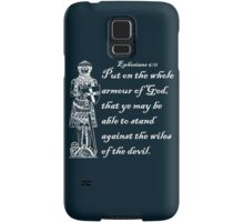 THE WHOLE ARMOUR OF GOD Samsung Galaxy Case/Skin