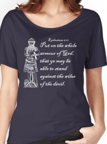 THE WHOLE ARMOUR OF GOD Women's Relaxed Fit T-Shirt