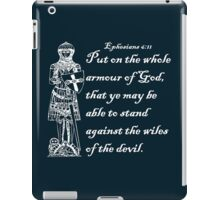 THE WHOLE ARMOUR OF GOD iPad Case/Skin