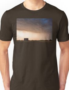 Lightning Striking On The Colorado Prairie Plains Unisex T-Shirt