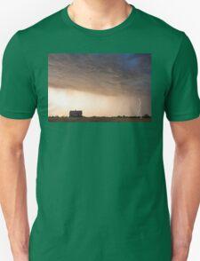Lightning Striking On The Colorado Prairie Plains T-Shirt