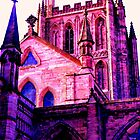 Hereford Cathedral UK by Les Haines