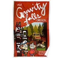 Visit Gravity Falls Poster