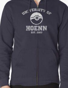 University of Hoenn Zipped Hoodie