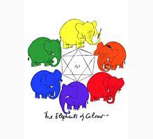 The Elephants of Colour Unisex T-Shirt