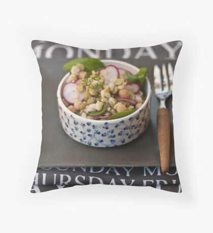 Lunch?  Throw Pillow