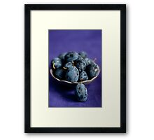 Plums Framed Print
