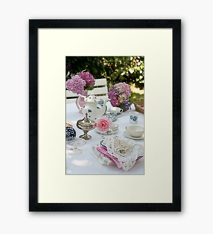 Tea Party Framed Print