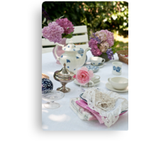Tea Party Canvas Print