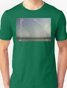 Positive Pink Lightning Strikes T-Shirt
