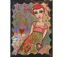 Patchwork dress Photographic Print