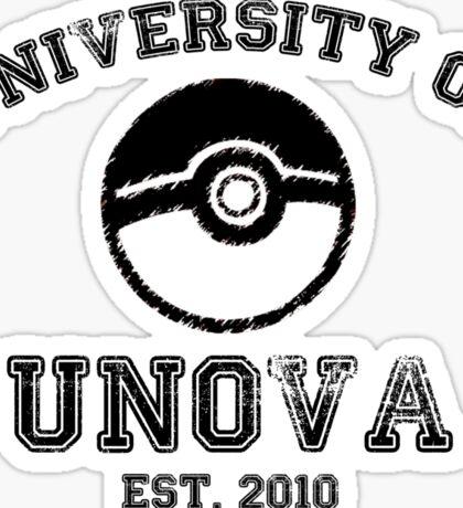 University of Unova Sticker