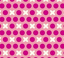 Pattern with circles and crosses by alijun