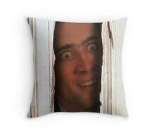 Here´s Nicolas! Throw Pillow