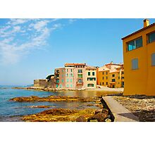 Golden hour in Saint Tropez - The French Riviera Photographic Print