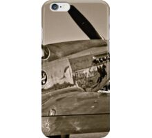 Stang Evil Vintage Mustage Fighter Plane iPhone Case/Skin