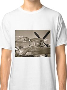 Stang Evil Vintage Mustage Fighter Plane Classic T-Shirt