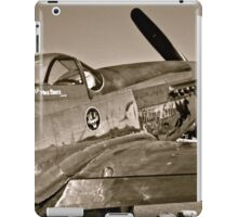 Stang Evil Vintage Mustage Fighter Plane iPad Case/Skin