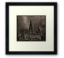 Dark Kingdom Framed Print