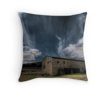 Blown Clouds Throw Pillow