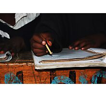 The Mathematical Pencil  Photographic Print