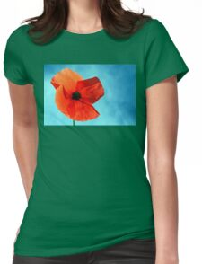 Sun-Drenched Womens Fitted T-Shirt