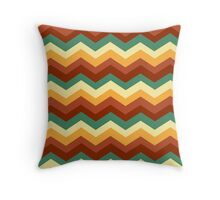 Chevron Pattern 2 Throw Pillow