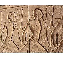 To the Relief of Ramses Photographic Print
