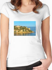 Nice at Sunset, Southern France Women's Fitted Scoop T-Shirt