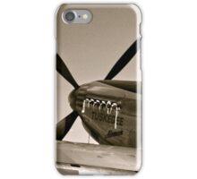 Tuskegee P-51 Mustange Vintage Fighter Plane iPhone Case/Skin