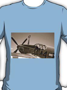 Tuskegee P-51 Mustange Vintage Fighter Plane T-Shirt