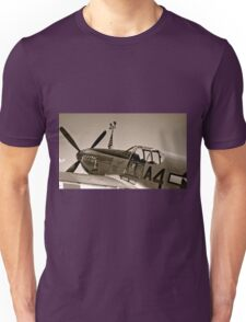 Tuskegee P-51 Mustange Vintage Fighter Plane Unisex T-Shirt