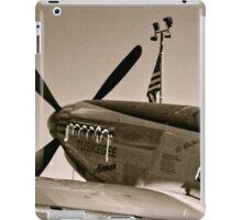 Tuskegee P-51 Mustange Vintage Fighter Plane iPad Case/Skin
